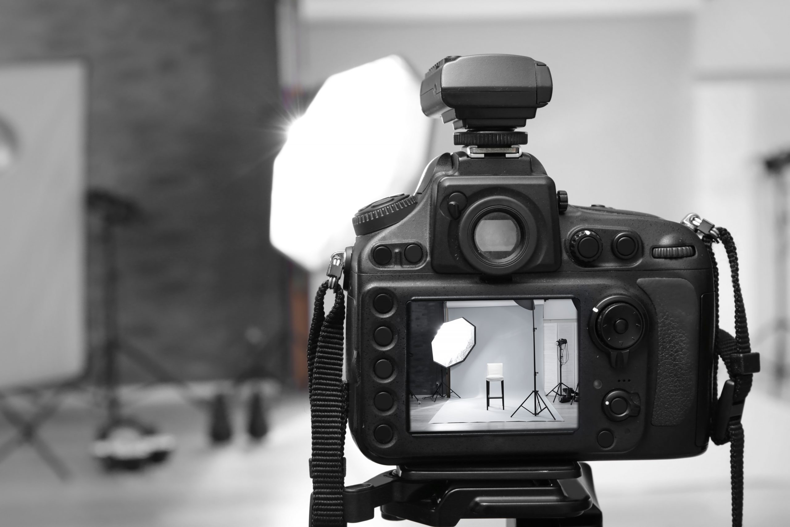 stock image of photography studio